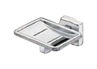 Seachrome Stainless Steel Bathroom Accessory Soap Holder Without Drain Holes (Qty = 50) - 15600