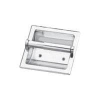 Seachrome Recessed Fixture Paper Holder Polished Stainless Finish (Qty = 10) - 682-SS