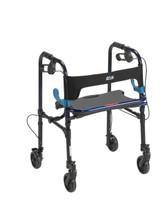 "Clever Lite Walker Rollator, Adult 5"" Wheels   Flame Blue   10230"