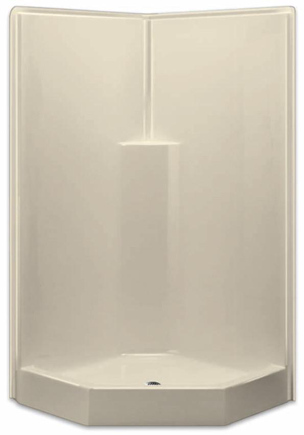 Aquarius AcrylX™ Corner Neo Angle Shower 39.5W X 39.5D X 78.5H ...