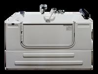 "Homeward Bath Soaking Sit-In Tub 3ft Wide Outward Opening Door 59x32"" Neptune Series HY1342"