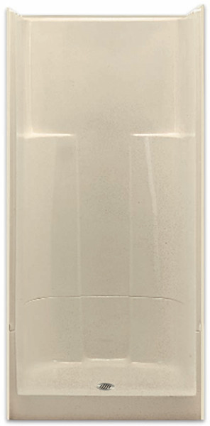 2 Piece Sectional Shower by Aquarius   36 x 36   Center Drain   G3687SH2P