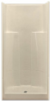 2 Piece Sectional Shower by Aquarius | 36 x 36 | Center Drain | G3687SH2P