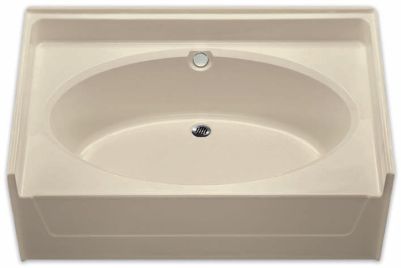 Aquarius | 60 x 37 Residential Gelcoat Oval Soaking Tub | Drain ...