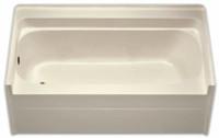 Aquarius 60 x 32 Residential Gelcoat Soaking Tub - Drain Left - G6032TOL