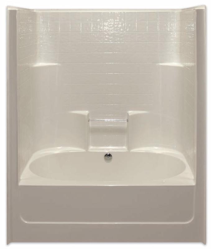 Aquarius 60 x 43.25 Tub Shower   Center Drain   G6042TSCDTile