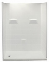 "Aquarius Gelcoat Shower Stall 60"" x 31"" 