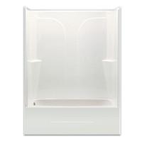 Aquarius Choose Home Series 54 x 27 Gelcoat Tub Shower 2 Piece - CHG 5494 TS 2P