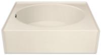 Aquarius 60 x 36 Residential Gelcoat Oval Soaking Tub - Drain Left - GGT36L