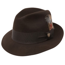 Dobbs Dayton Brown Firm Felt Hat