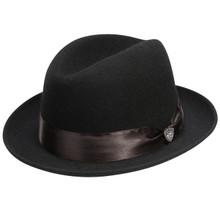 Dobbs Boulevard Black Wool Hat