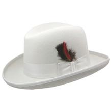 Dobbs Fleetwood White Wool Hat