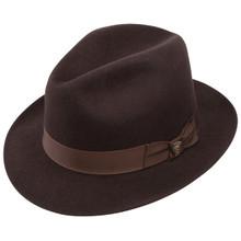 Dobbs Fox Brown Wool Hat