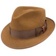 Dobbs Hashtag Cognac Wool Hat