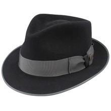 Dobbs Hashtag Black Wool Hat
