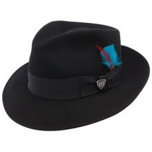 Dobbs Strand Black Wool Hat