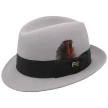 Dobbs Randall Gray Wool Hat