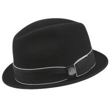 Bigalli Downtown Black Wool Felt Hat