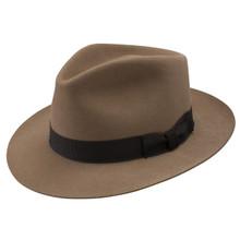 Stetson Chatham Light Brown Wool Hat