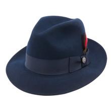 Stetson Fredrick Navy Wool Hat