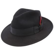 Stetson Gurnee Black Wool Hat