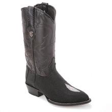 Wild West Black Genuine Stingray Boots