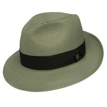 Dobbs Rosebud Olive Florentine Milan Straw Hat
