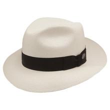Stetson Bentley Natural 3-Bu Shantung Firm Finish Straw Hat