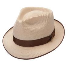 Stetson Inwood Natural Hemp Braid Firm Finish Straw Hat