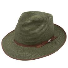 Stetson Stratoliner Sage Hemp Braid Firm Finish Straw Hat