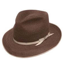 Stetson Stratoliner Brown Hemp Braid Firm Finish Straw Hat