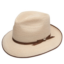 Stetson Stratoliner Natural Hemp Braid Firm Finish Straw Hat