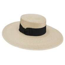 Stetson The Sunny Natural Palm Firm Finish Ladies Straw Hat