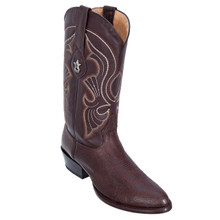 Los Altos Brown Genuine Bull Shoulder Leather Boots