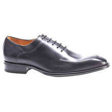 Mezlan Velez Graphite Calfskin Leather Bal Oxfords