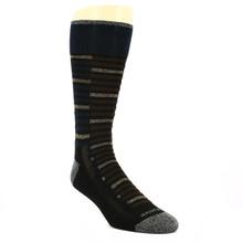 Remo Tulliani Seminole Charcoal & Multicolor Socks