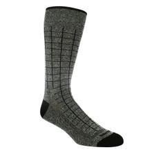 Remo Tulliani Navajo Charcoal & Black Patterned Socks