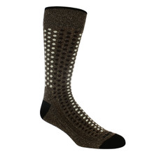 Remo Tulliani Iroquois Brown & Multi Dress Socks