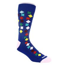 Remo Tulliani Gelding Royal Blue & Multi Patterned Socks