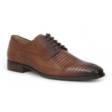 Giorgio Brutini Emery Tobacco Leather Oxfords
