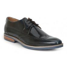 Giorgio Brutini Kitts Navy Leather Oxfords