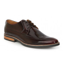 Giorgio Brutini Kitts Burgundy Leather Oxfords