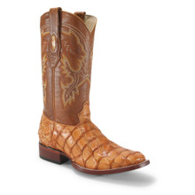 Los Altos Buttercup Glossy Pirarucu Square Toe Boots