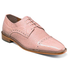 Stacy Adams Rodrigo Misty Rose Leather Oxfords