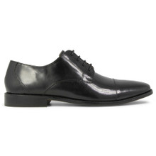 Florsheim Montinaro Black Leather Cap-toe Oxfords