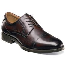Florsheim Midtown Brown Leather Cap Toe Oxfords