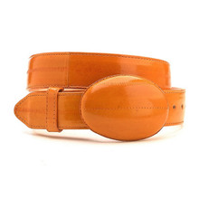 Los Altos Cognac Genuine Eelskin