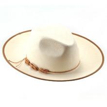 Bigalli Punta Blanca White Panama Sun Hat