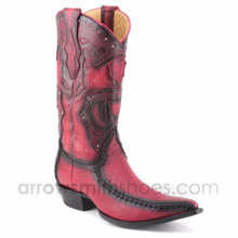 King Exotic Genuine Shark Skin Western Boots