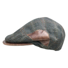 Bigalli Boston Olive Green Wool Ivy Cap